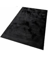Bruno Banani Hochflor-Teppich Dana Höhe 30 mm handgetuftet schwarz 1 (60x90 cm),2 (80x150 cm),3 (120x180 cm),4 (160x230 cm),5 (200x200 cm),6 (200x300 cm),7 (240x320 cm)