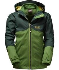 Jack Wolfskin Outdoorjacke ICELAND 3IN1 BOYS 2 teilig grün 92,104,116,140,152,164