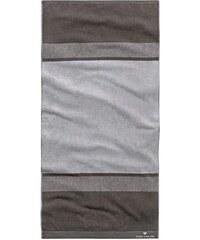 Handtücher Hugo mit breiten Streifen Tom Tailor grau 2xHandtücher 50x100 cm