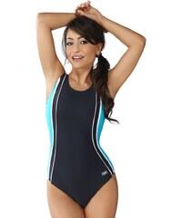Winner Dámské jednodílné plavky Agata II šedo modré