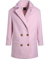 Manteau grand col cranté Rose Polyester - Femme Taille 1 - Cache Cache