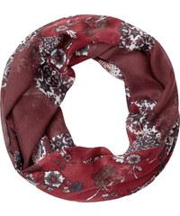 Cecil Loop mit Ornamentprint - maroon red, Herren