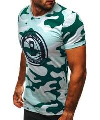 Athletic Světle zelené army tričko