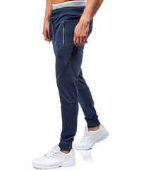 RED FIREBALL Modré jogger tepláky