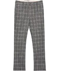 GANT Rugger Pantalon Ultra évasé Checker - Dark Grey Melange