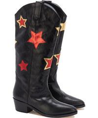 Chiara Ferragni CAMPEROS Cowboy-Boots in Schwarz