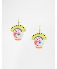 N2 by Les Nereides - Boucles d'oreilles crâne colorées - Multi