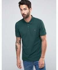 Farah - Grünes Polohemd in regulärer Passform - Grün