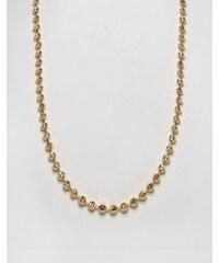 Mister Marble - Goldfarbene Halskette - Gold
