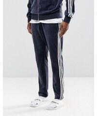 Adidas Originals - Archive AY9244 - Pantalon de jogging slim en velours - Bleu