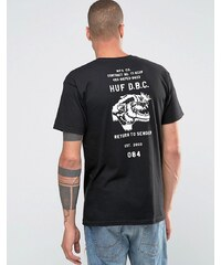 HUF - T-shirt imprimé au dos - Noir
