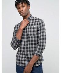 Jack & Jones - Chemise à carreaux - Noir
