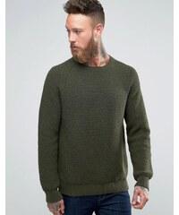 Edwin - Purl - Pull en tricot - Vert