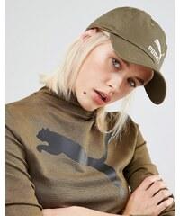 Puma - Exklusiv bei ASOS - Khakigrüne Kappe mit Logo - Grün