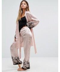 Pour Moi - Bardot - Pantalon en satin - Rose