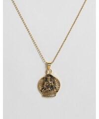 Seven London - Collier avec pendentif Bouddha - Doré - Doré