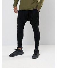 Sixth June - Pantalon de jogging skinny à entrejambe bas - Noir