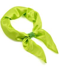 Bijoux Me Šátek se sponkou Letuška Light 245lel001-51 - světle zelený