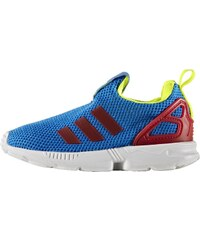 adidas Originals ZX FLUX 360 Baskets basses bluebird/solar yellow/ray red