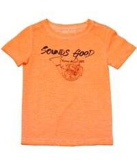 Vinrose Dětské oranžové tričko s nápisem Sounds Good