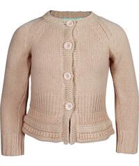 Vinrose Dětský starorůžový svetr na knoflíky