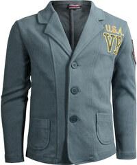 Vinrose Dětské mikinové sako s výšivkou