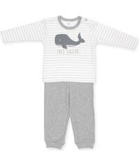 Pinokio Dětské šedé pyžamo s velrybou