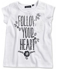 Blue Seven Dětské tričko Sunshine s nápisem Follow your heart