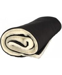 Kaarsgaren Zimní deka merino černá