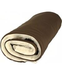Kaarsgaren Zimní deka merino hnědá