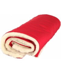 Kaarsgaren Zimní deka merino červená