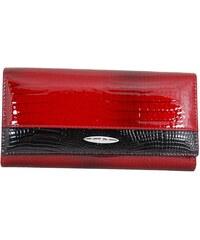 Kožená červená peněženka Frastie