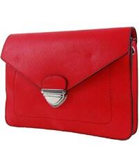 Červená crossbody kabelka Krasie