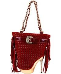 Červená kabelka Boties