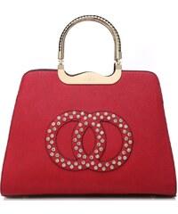 Červená kabelka Kaleigh