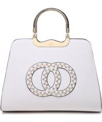 Bílá kabelka Karina