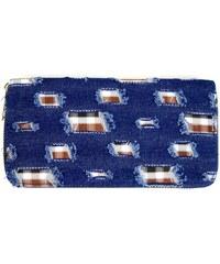 Modrá riflová peněženka Rowan