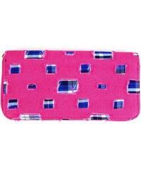 Růžová riflová peněženka Rory