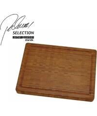 Pohlreich Selection Bambusové prkénko, 42 x 31 x 4 cm, Zwilling PS + Minifondue
