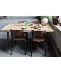 Dutchbone Jídelní stůl 200x90cm teakový masiv KAPAL Zuiver