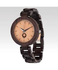 Plantwear dámské hodinky Wenge tmavě hnědé