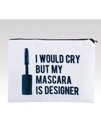 Wayfarer kosmetická taška Mascara bílá.