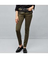Moodo dámské kalhoty Jessica olivová XS