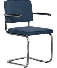 Jídelní, kancelářská židle RIDGE KINK VINTAGE s područkou Zuiver