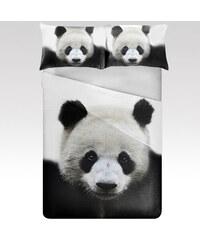 Wayfarer povlečení Panda černé polyester 140x200, 70x90.