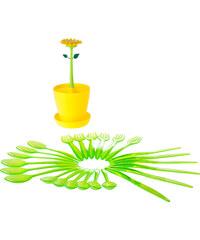 Stojan na příbory, odkapávač, stojanna tužky FLOWER POWER VIGAR