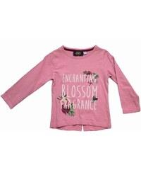 Carodel Dívčí tričko s rozparkem - růžové