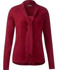 Street One - T-shirt à lavallière Ilaine - vintage red