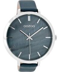 Oozoo Damen-Armbanduhr mit Lederband Blau C8353