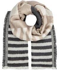 REVIEW Schal mit Streifenmuster